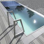 бассейн из нержавеющей стали
