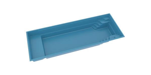 Keramický bazén BABY POOL 3D
