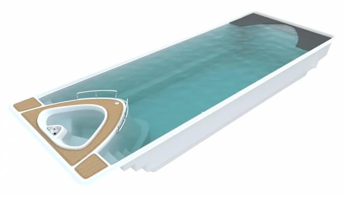 Keramický bazén Yacht Pool