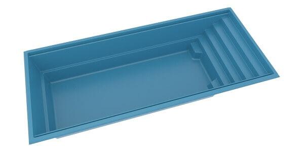 Керамический бассейн Trend 3D
