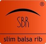 Slim balsa rib