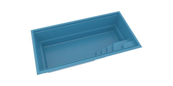 Keramický bazén AQUA 3D