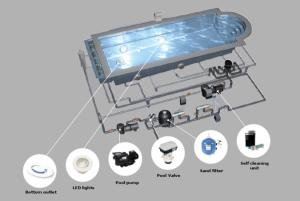 Príslušenstvo keramických bazénov